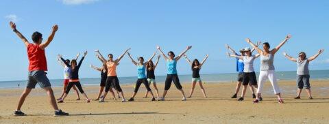 seance-sport-plage-saint-jean-de-monts-camping-Les-Places-Dorees